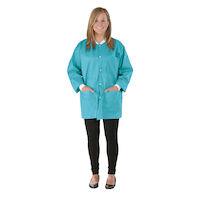 9520846 SafeWear Hipster Jackets Medium, Tropical Teal, 12/Pkg., 8115B