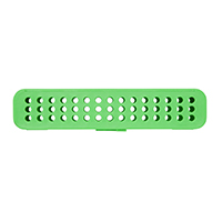 9538846 Compact Steri-Container Vibrant Green, Container, 50Z905P
