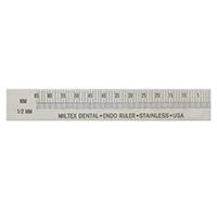 """9021356 Endodontic Ruler 3"""", Right-Handed, 017-25703"""