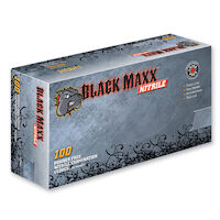 9507456 Black Maxx PF Gloves X-Large, 100/Box, BMN100XL