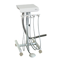 9626166 3 HP Automatic Doctor's Cart and Duo Cart with Vacuum Doctor's Cart, S-4100