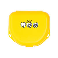 "9538266 Imprinted Retainer Boxes 1.5"", Neon Yellow, 24/Pkg., 25P550O"