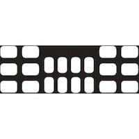 8852466 EZ View Black 8H #2, 8V #1 4BW #3, 8H #2, 8V #1 4BW #3, 100/Pkg.