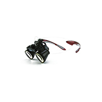 """9900966 Loupes Red Frame, 3.5x Kit, 13""""-16"""" Distance, 1-5008"""
