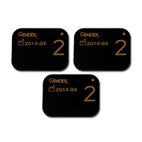 8270676 DenOptix Intraoral Imaging Plate Size 2, 4/Pkg., DOIPS02