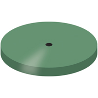 9594086 Goldstar Polishers Green, Large Wheel, UM Shank, 10/Pkg., P1801