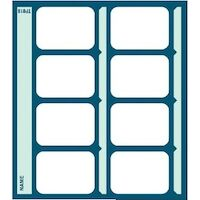 9522786 Pocket X-Ray Mounts Masked Pocket, 8V, 100/Pkg.