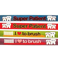 3314107 Slap Bracelets Dental Design Slap Bracelet, 48/Pkg., S6506