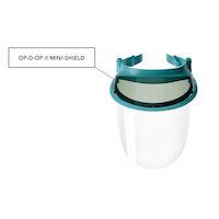 9506207 Op-D-Op II Visor Shield Protective Barrier System Op-D-Op II Tinted Mini Shields,6/Pkg.,355MS6
