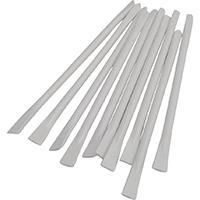 9536807 Mighty Mixer Sticks Mixing Sticks, White, 100/Pkg, 50Z521