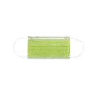 4952017 Monoart Face Masks Protection 3 Lime, 50/Box, 217120