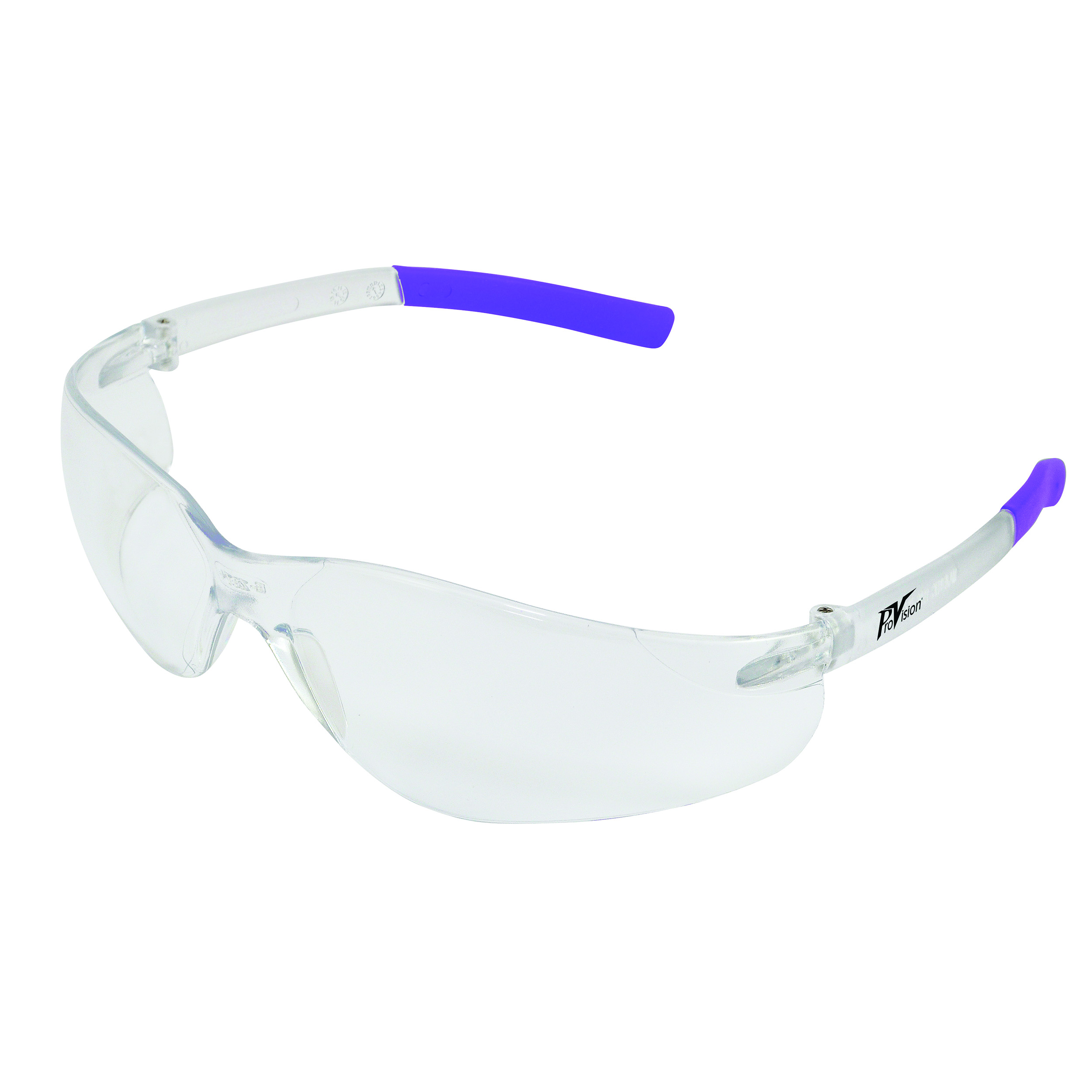 9200117 ProVision Clarity Eyewear Lavender Frame, Clear Lens, 3605L