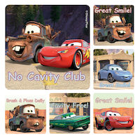 3314117 Disney Stickers Cars, 100/Roll, PS422