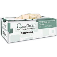 3051127 QualiTouch Synthetic X-Long Cuff PF Gloves Medium, 100/Box, 41443E