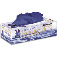 3051227 Reflection Sapphire Sensitive Nitrile PF Gloves Medium, 200/Box, 431108