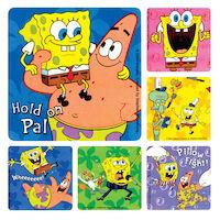 3313227 SpongeBob Stickers SpongeBob w/Friends, PS269, 100/Roll
