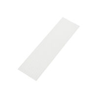 "9522427 Utility Wax 3/16"", Square Rope, White, 44/Box"