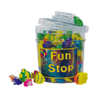 3310627 Water Squirters Sea Animal Squirters, 108/Canister
