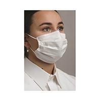 9510137 Level 3 Dual Fit Ear-Loop Face Mask Blue, 50/Box, MK7300