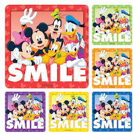 3313237 Disney Stickers Gang Smile, 100/Roll, PS233