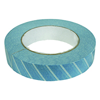 "4931537 Blue Steam Indicator Tape 1"" Wide x 60 yds. Long"
