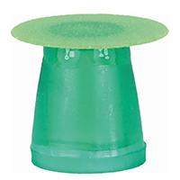 8880147 Super-Snap X-Treme Mini, 8 mm, Green, 50/Box, L531