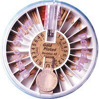 9520157 Dentatus Post Reamers L4, Long, 33 mm, 3/Pkg., RUB-4