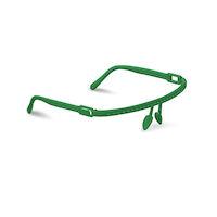 5250557 Vista-Tec Ultra Light Faceshields Vista-Tech Ultra Light Classic, 1 Frame, 10 Shields,Green,5624/G