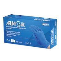 5251757 Armor Nitrile Powder-Free Exam Gloves Small,100/Box,Blue,GL-100S