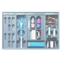 8138957 FluoroPost Precision Drill Refill, Size 3, Blue, 3/Pkg., 61i043