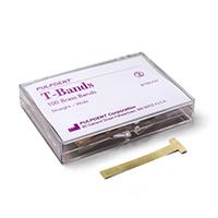 8790067 T-Bands Wide, Brass, Straight, 6.4 mm, 100/Box, BTBS/W