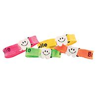 3310267 Dental Bracelets Woven Cloth Bracelet w/Sayings, 48/Pkg.