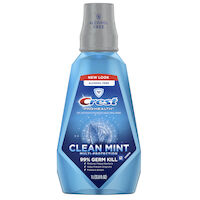 8180267 Crest Pro-Health Rinse Multi-Protection, Clean Mint, 1 Liter, 6/Box, 84853262