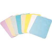 "9521267 Bracket Tray Covers Ritter Size B, Peach, 8.5"" x 12.25"", 1000/Box, FBPE"