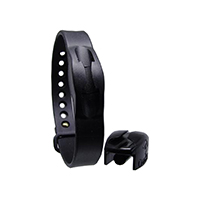 9342267 CordEze Autoclavable Wristband 7 mm, Black, CE7BLK