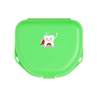 "9538267 Imprinted Retainer Boxes 1.5"", Neon Green, 24/Pkg., 25P550P"
