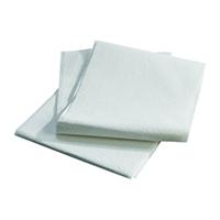 "4931567 Drape Sheets White, 40"" x 48"", 100/Pkg."