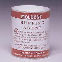 9508977 Moldent Buffing Agent Buffing Agent, Red, 1 lb., 41940