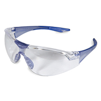 9507187 Hager Avions Blue w/Clear Lens, 100921
