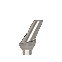 4970287 Concave Angulated Esthetic Cemented Abutments 25°, 1 mm x 10 mm, AGM-103-1C
