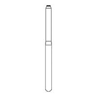 9591387 Tissue Protective End FG, NTI Diamonds 840-014, Medium, 5/Pkg.