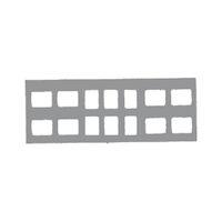 9522687 Klear-Vue Cardboard 14-6V #2, 100/Box, 25225