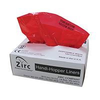 "9538787 Handi-Hopper Liners, Red, 6 1/2"" x 10 1/2"", 100/Box, 20Z405"