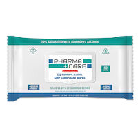 6600987 PharmaCare 70% Alcohol Hand Sanitizing Wipes 50/Pkg. ,PC-1040-2