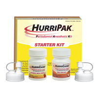9120987 HurriPak Periodontal Anesthetic Kit Starter Kit, 0283-1009-09