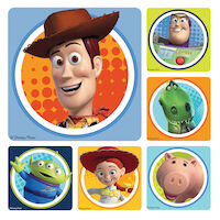 3310808 Disney Stickers Toy Story, 100/Roll, PS443