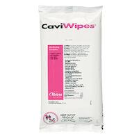 "9541218 CaviWipes Flat Pack, 7"" x 9"", 45/Pkg., 13-1224"