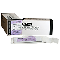 "8433318 Perma Sharp, Plain Gut 4-0, 18"", C-6, 12/Box, PSN525FA"