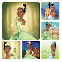 3310818 Disney Stickers Princess and the Frog, 100/Roll, PS608