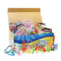 3310628 Treasure Toy Chest Value Chest w/100 Toys, E141